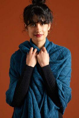 fijn gebreide sjaal met ajour details 05833 nola scarf
