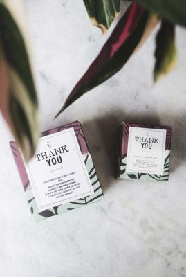geur kaars in blik thank you jasmin-vanilla  1011709