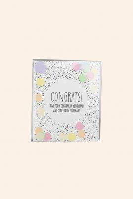 confetti kaart congrats  1055505