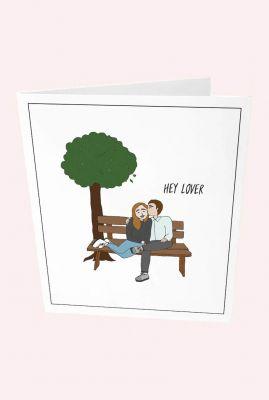 kaart hey lover  1088835