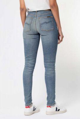 lichte skinny jeans met high waist hightop tilde huntington 113265