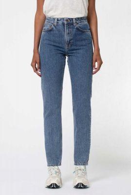 tapered jeans met high waist breezy britt friendly 113289