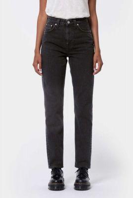 zware tapered jeans met high waist 113322 breezy britt black