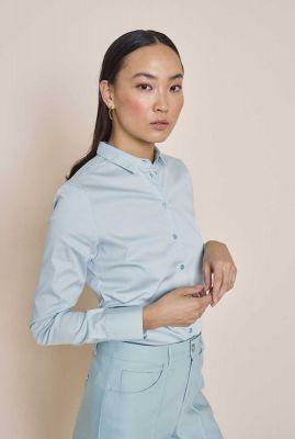 duurzame basis blouse met stretch tilda 131700