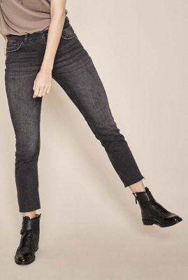 grijze mid-waist skinny jeans ava jeans 134230