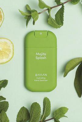 hand sanitizer mojito pocket size splash