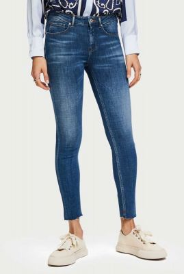 7/8 skinny jeans la bohemienne cropped wash it away 153743