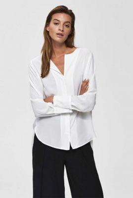 basis blouse met knoopsluiting stina dynella 16069726 stina noos