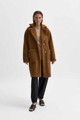 oversized lange teddy jas new nanna teddy jacket 16079406