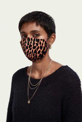 herbruikbaar mondkapje met luipaard dessin 162225 leopard