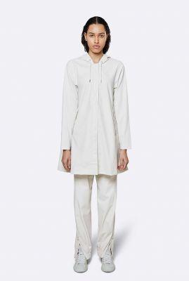 off-white waterdichte a-lijn regenjas aline jacket 1834 off white