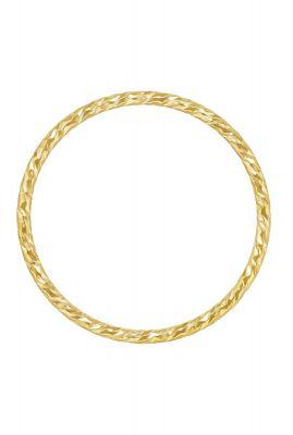 gouden ring met gedraaid dessin maat L 2001R51
