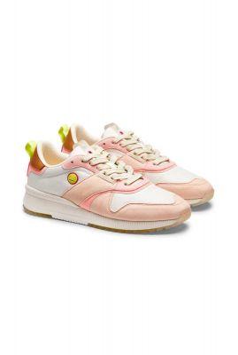suéde leren sneakers vivi colour block 20737553