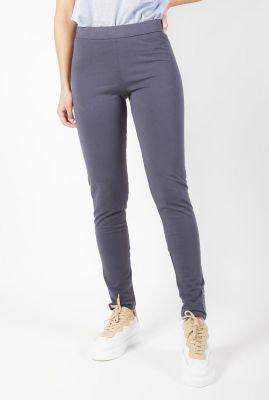 blauw grijze legging met patch aan de onderkant 211allison
