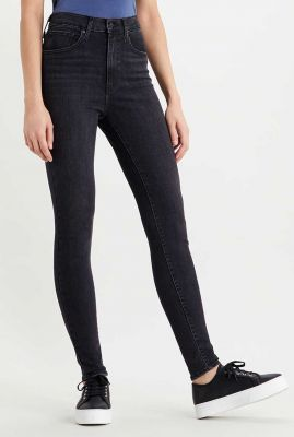 zwarte skinny jeans mile high super skinny 22791-0147