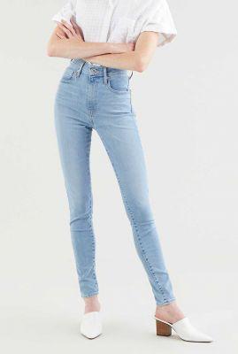 lichte high waist skinny jeans mile high super skinny 22791-0181