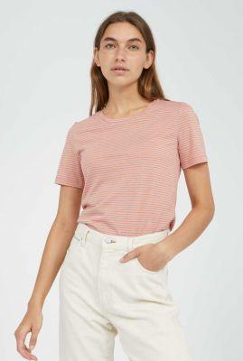 zacht t-shirt met strepen dessin lidiaa small stripes 30002530