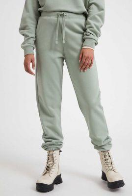 zachte groene jogging broek met tunnelkoord ivaa 30002567