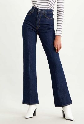 donker blauwe ribcage bootcut jeans 36934-0000