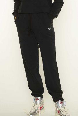 zwarte joggingbroek met logo true 6053203