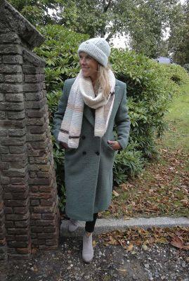 lange mantel jas van wolmix 6619163