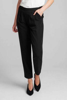 zwarte pantalon met elastische tailleband nubaylor pant 700278
