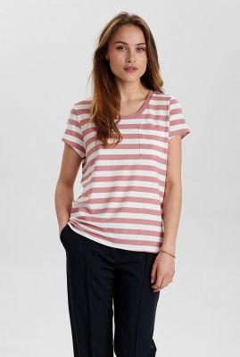gestreept t-shirt nubowie t-shirt noos 700423