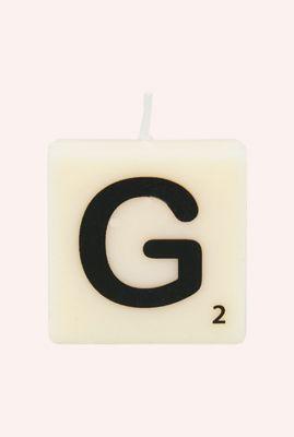letter kaars G 7040017