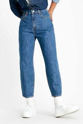 balloon leg jeans met high waist 85314-0002