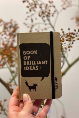 craft notitieboekje van gerecycled materiaal klein A6