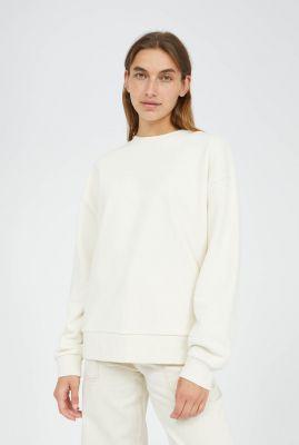 crème kleurige oversized sweater aarin 30002558