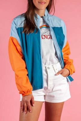 lichtgewicht colour blocking jack alanna jacket
