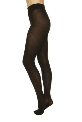 zwarte panty van cashmere mix alice cashmere tights
