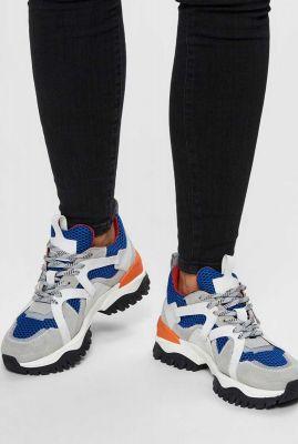 sneaker met mesh details amy trail trainer 16072902