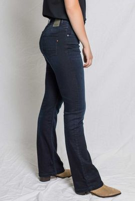 donker blauwe flared jeans amy bootcut 31-02