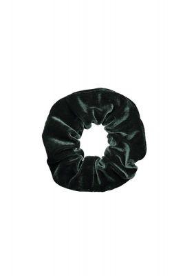 donker groene fluwelen scrunchie chloe