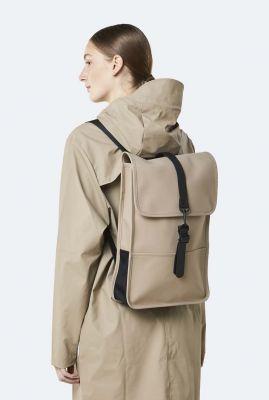 beige waterafstotende rugtas backpack mini 1280