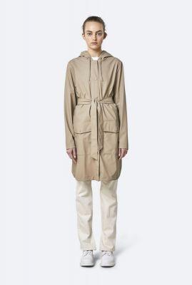 beige regenjas met ceintuur belt jacket 1824