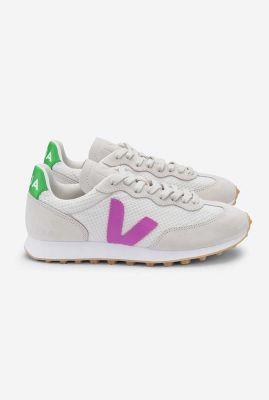 witte sneakers met paars branco hexa ultraviolet   rbw011979