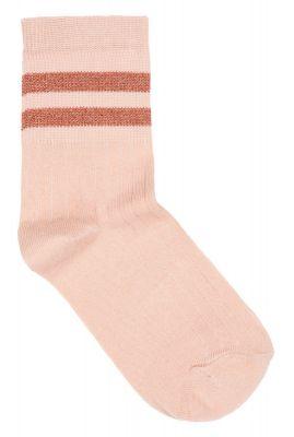 katoenen sokken met lurex glitter strepen sparkle stripe sock