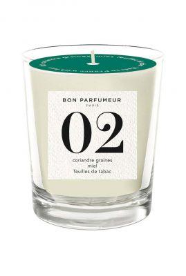 geurkaars koriander, honing, tabaksbladeren candle 02