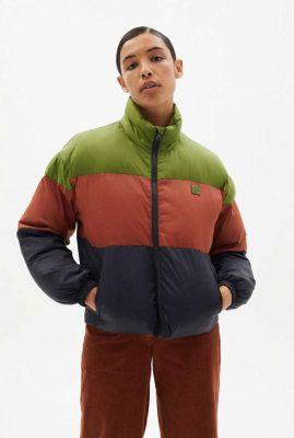 korte puffer jas colors trash emma ecodown jacket wjk00048