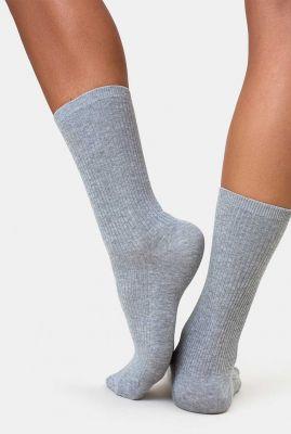 rib sokken van biologisch katoen mix organic sock CS6002