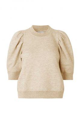 sweater met half lange pofmouwen dawni sweat tee