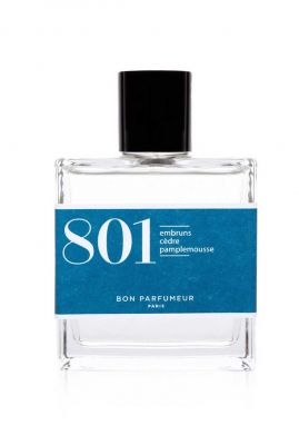 parfum 801 met extracten van sea spray, ceder, grapefruit 30ml edp801
