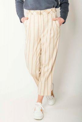 off white gestreepte pantalon emily pant 16072133