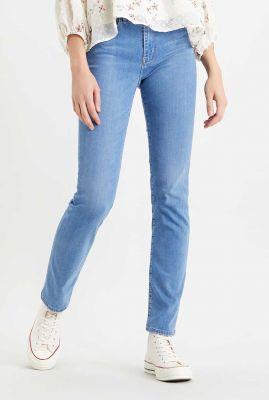 licht blauwe 724 high waist straight jeans 18883-0106