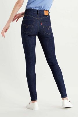 donker blauwe mile high skinny jeans 22791-0053