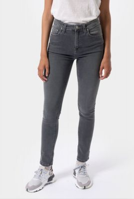 grijze highwaist skinny jeans hightop tilde concrete grey 113168