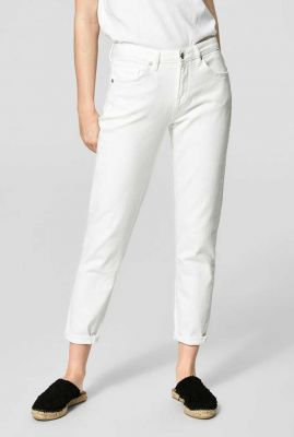 witte skinny jeans  cropped 16061624 ida white
